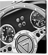 1972 Ginetta Steering Wheel Emblem Canvas Print