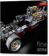 1974 Lola T332  F5000 Race Car V8 5 Litre Chassis Canvas Print