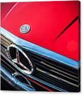 1984 Mercedes 500 Sl Convertible Canvas Print