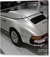 1987 Porsche 911 Carrera 3.2 Speedster Studie Canvas Print