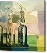 1-2-3 Bottles - J091112137 Canvas Print