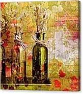 1-2-3 Bottles - S12a203 Canvas Print