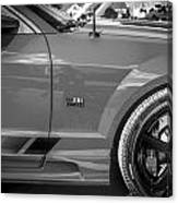 2006 Ford Saleen Mustang Bw Canvas Print