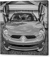 2006 Mitsubishi Eclipse Gt V6 Painted Bw Canvas Print
