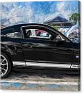 2007 Ford Mustang Shelby Gt Painted Canvas Print