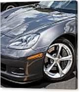2010 Chevy Corvette Grand Sport Canvas Print