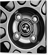 2013 Fiat Abarth Wheel Emblem Canvas Print