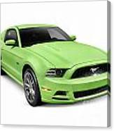 2013 Ford Mustang Gt 5.0 Sports Car Canvas Print