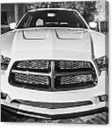 2014 Dodge Charger Rt Painted Bw Canvas Print