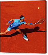 2015 French Open - Day Nine Canvas Print