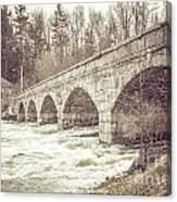 5 Span Bridge Canvas Print
