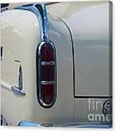 52 Packard Convertible Tail Canvas Print