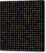 700 Digits Of Pi Canvas Print