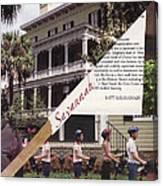 1-877-Savannah Canvas Print