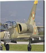 A Bulgarian Air Force L-39 Albatros Canvas Print