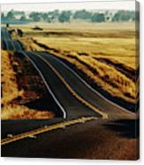 A Country Road In The Central Valley Canvas Print