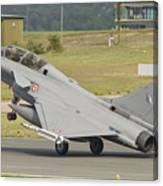 A French Air Force Rafale Jet Canvas Print