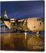 A Royal Air Force C130j Hercules  Canvas Print