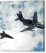 A Royal Air Force Hawk  Canvas Print