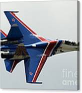 A Sukhoi Su-27 Flanker Of The Russian Canvas Print