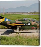 A T-2e Buckeye Trainer Aircraft Canvas Print