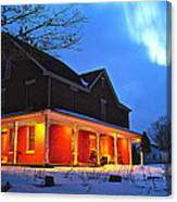 A Winters Eve Canvas Print
