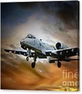 A10 Thunderbolt II Canvas Print