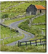Abandoned Farm Building Canvas Print