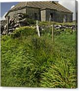 Abandoned Farm In Ireland Canvas Print
