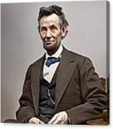 Abe Lincoln President Canvas Print