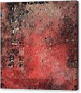 Abstract Red Digital Print Canvas Print