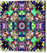 Abstract Symmetry Of Colors Canvas Print