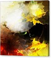 Abstract Under Glass Canvas Print