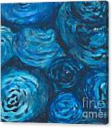 Abstract Watercolour Painting Canvas Print