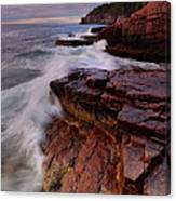 Acadia Dawn Canvas Print