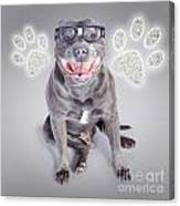 Access To Smart Dog Training Canvas Print