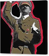 Adolf Hitler Saluting 2 Circa 1933-2009 Canvas Print