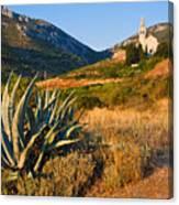 Adriatic Landscape Canvas Print