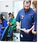 A&e Nurses Canvas Print
