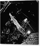 Aerialist Catwalk Circus Aberdeen South Dakota 1965 Canvas Print