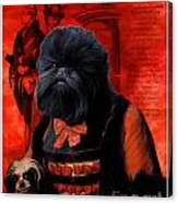 Affenpinscher Art By Nobility Dogs Canvas Print