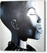 African Elegance - Original Artwork Canvas Print