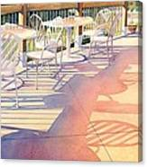 Afternoon Shadows At Les Bourgeois Canvas Print