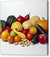 Agriculture - Autumn Fruits Canvas Print