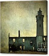 Alcatraz Island Lighthouse Canvas Print