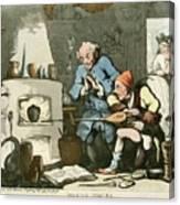 Alchemist At Work Canvas Print