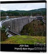 Alder Dam Canvas Print