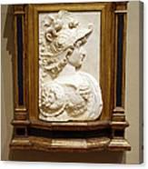Alexander The Great By Andrea Del Verrocchio Canvas Print