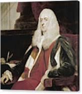 Alexander Wedderburn (1733-1805) Canvas Print