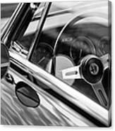 Alfa Romeo Steering Wheel Canvas Print